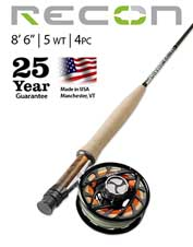 If you need only a single freshwater fly rod, make it the Recon 5-Weight 8'6