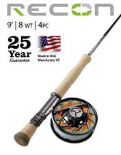 Saltwater fish, take heed: The Recon 8-Weight 9' 4-Piece is the fly rod that can do it all.