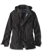 The Burrows Field Jacket hides a multitude of pockets perfect for stashing travel essentials.