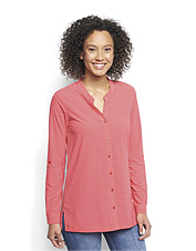 Comfortable stretch and other smart features make The Journey Tunic a top choice for travel.