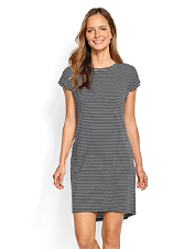 Comfortable, breathable, and versatile—The Go2 Tee Dress.