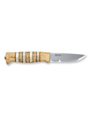 An heirloom-quality blade, this Arv Knife by Helle was handcrafted using traditional methods.