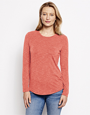 The combination of Tencel and drirelease makes this long-sleeved pocket tee our softest yet.