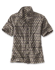 This Kalamkari Block Print Shirt is perfect for laid-back days—or making an impression.