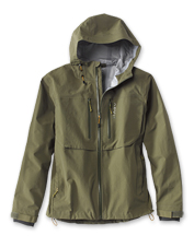 Shed water as you pull in fish wearing our well-appointed Men's Clearwater Wading Jacket.
