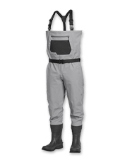 The Clearwater Bootfoot is a budget-friendly fly-fishing wader with impressive features.