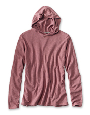 You'll keep this incredibly soft and versatile slub knit hoodie in rotation across seasons.