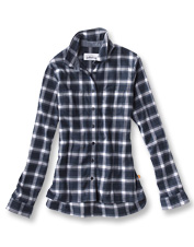 Our Firehole Flannel shirt is made from an eco-friendly blend that includes recycled plastic.