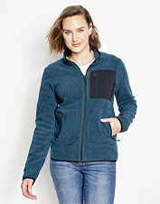 Zip up against the chill of turning seasons in our earth-friendly Equinox Eco-Fleece Jacket.
