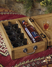 Sláinte or salute, heartfelt celebratory toasts start with this Personalized Toasting Box.