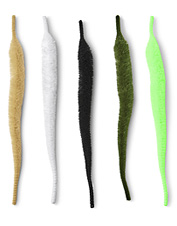 Mangum's Mini Dragon Tail fly-tying material turns swimming action into more fish in the net.