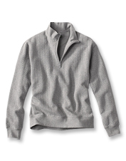 Our Herringbone Signature Sweatshirt is a handsome layer for cool weather and casual days.
