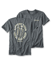 Support your local rod shop with this T-shirt that extols the merits of the hometown dealer.