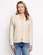 Our Natural Wonders Boyfriend Cardigan Sweater boasts versatile styling and four-season comfort.