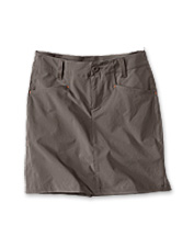 Durable ripstop nylon is the ideal material for our lightweight, tailored-for-adventure skort.