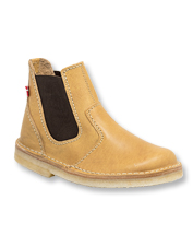 When footing matters, rely on the waterproof Roskilde Chelsea Boot handcrafted by Duckfeet.