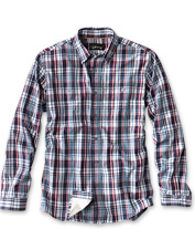 Our Flat Creek Plaid Shirt is perfect for fishing, but polished enough for days in town.