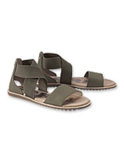Cobblestone streets or hometown treks—strappy Ella Sandals by Sorel manage either with ease.