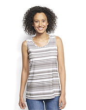 Pack it or wear it on the plane—wherever you travel, this printed tank top is ready to go.