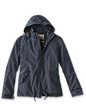 The waterproof Rosedale Jacket by Barbour blocks rain—even when it's coming down sideways.