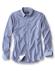 Our River Guide Shirt takes on the classic gingham check for a lightweight, summer-ready style.
