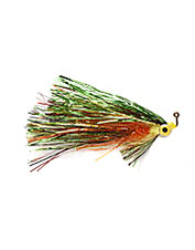 The aptly named Flash and Grab streamer fly is an attention-getter with plenty of sparkle.
