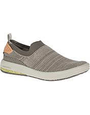 Eco-friendly Gridway Mocs by Merrell are perfect for finding adventure—or running errands.