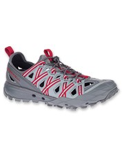 The Choprock Sandal by Merrell offers grip and quick-dry comfort in a trail-ready open hiker.