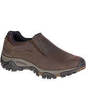 The Moab Adventure Moc by Merrell earns breathability from leather and mesh construction.