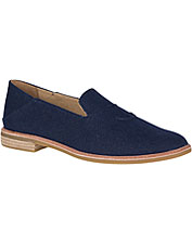 22bb2313656 Polished style and casual comfort unite in these smart Seaport Levy Canvas  Loafers by Sperry.
