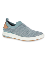Merrell shows a commitment to the Earth with these Gridway Mocs, made with recycled materials.