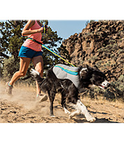 The Swamp Cooler Dog Vest by Ruffwear is engineered with three layers of cooling technology.