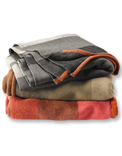 Bring a touch of camp comfort into every day with our Orvis Adventure-Ready Throw blanket.