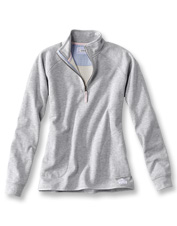This quarter-zip sweatshirt is lined with our soft Signature Fleece for go-anywhere comfort.