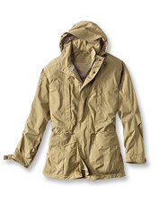 Soaking rain and howling wind can't compete with the breathable, waterproof Pursell Jacket.