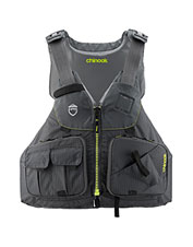 Designed with safety and utility in mind, the NRS Chinook PFD is perfect for kayaking anglers.