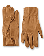 We've tailored these rugged sheepskin Uplander Shooting Gloves for a woman's ideal fit.