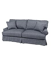 Update your furniture with snug-fitting, machine-washable replacement upholstery slipcovers.
