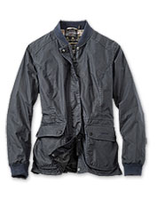 The Barbour Lightweight Norfolk Wax Jacket offers impressive performance in fickle weather.