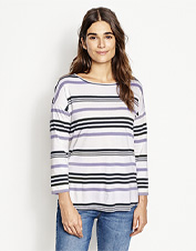The basic striped tee goes anywhere in our Supersoft style made from a silky modal blend.