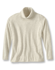 Naturally cozy cashmere in a range of earthy hues makes this cowlneck sweater an easy favorite.