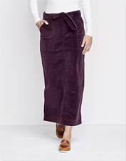 Dressy-casual just got easier: Our Corduroy Tie Waist Skirt is comfortable, yet polished.