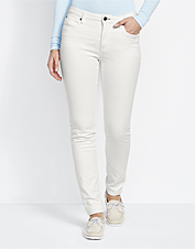 Orvis Skinny Jeans offer a bit of stretch for comfort that lasts all day without sagging.