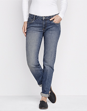 A little stretch and a modern fit give Orvis Boyfriend Jeans a leg up on all-day comfort.