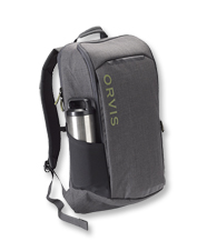 Our Safe Passage Backpack offers easy access and protective padding for travel near and far.
