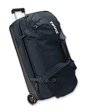You're ready for any adventure with the roomy, easy-to-pack Subterra rolling duffle by Thule.