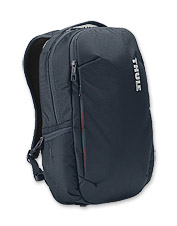 Keep your electronics protected on the go with the spacious Subterra 23L Backpack from Thule.