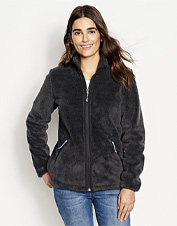 Layer against the blustery winter weather in this warm Wasatch Windproof Fleece Jacket.
