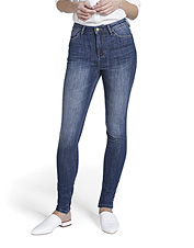These high-rise skinny jeans by Dish are made with cool, rugged performance stretch denim.