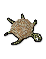 Soft, yet tough, Burtle the Turtle is the floating, squeaker-free toy dogs can't resist.